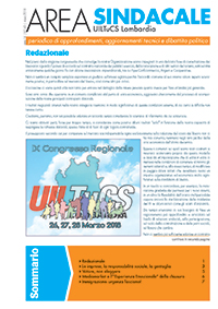 Area Sindacale n. 143 - Marzo 2018